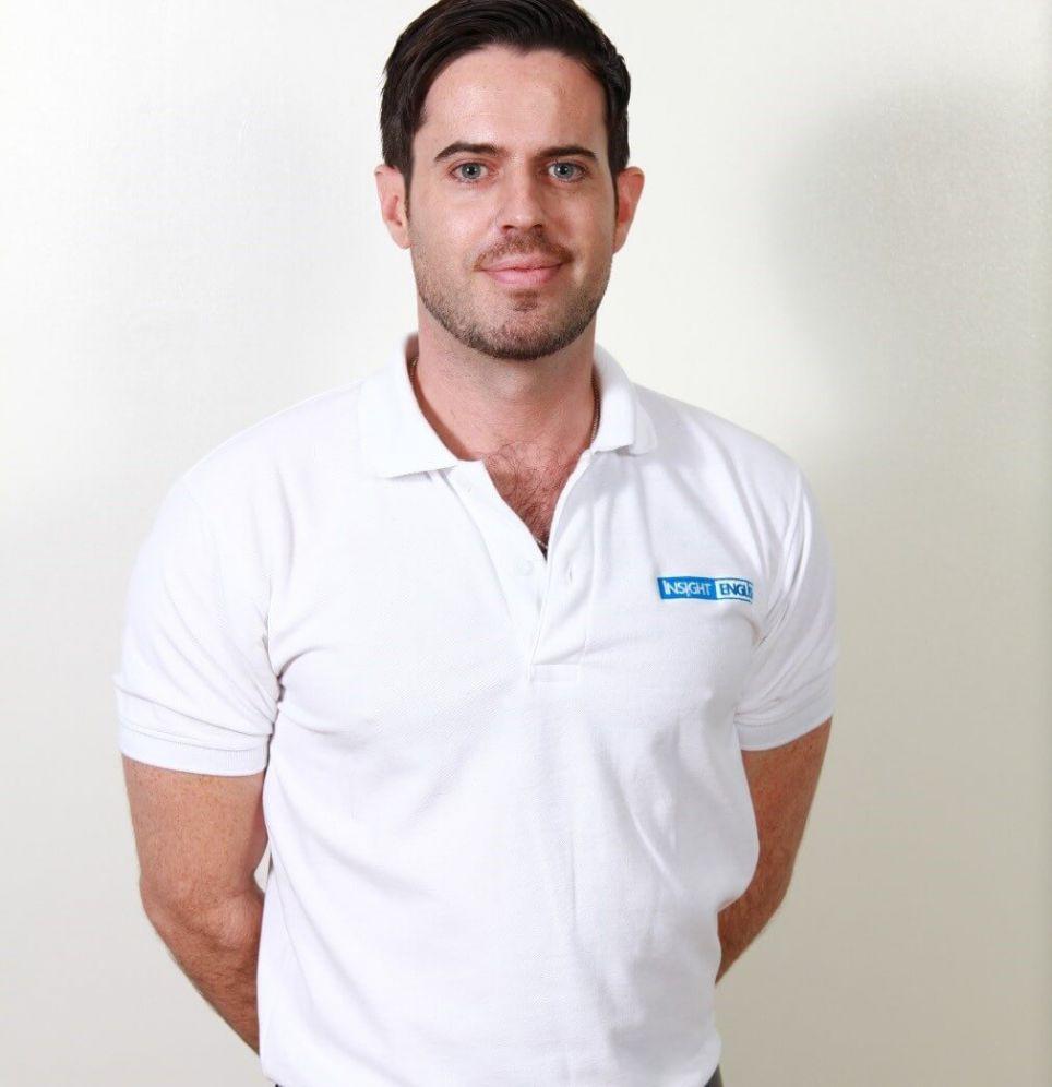 Teacher  Geoff  Farries